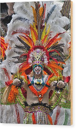 Mummer Wow Wood Print