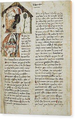 Muntaner, Ramón 1265-1336. Catalan Wood Print by Everett