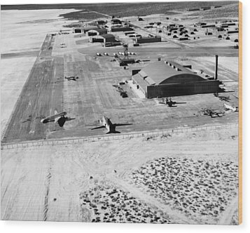 Muroc Flight Test Base, 1945 Wood Print by Science Photo Library