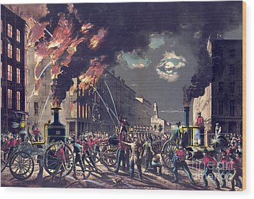 Muscle And Steam 1861 Wood Print by Padre Art