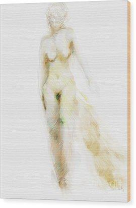 Wood Print featuring the digital art Muse by Gabrielle Schertz