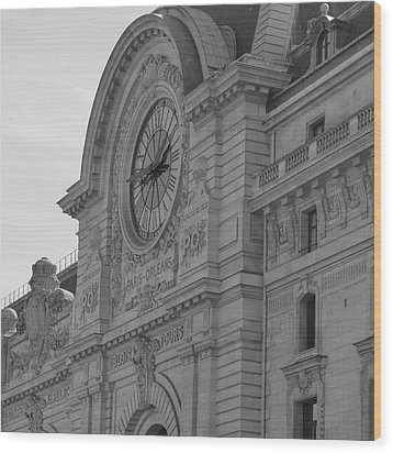 Musee D'orsay Wood Print by Cheryl Miller