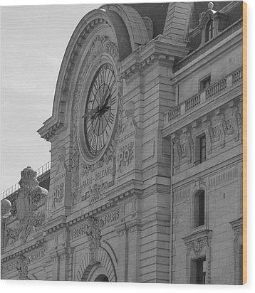 Musee D'orsay Wood Print