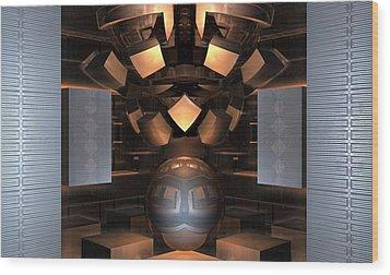 Museum Display 2 Wood Print by Ricky Jarnagin