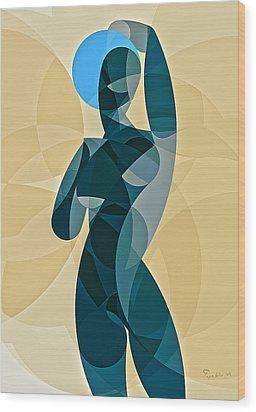 Music Of The Spheres #11 Wood Print by Peyablo