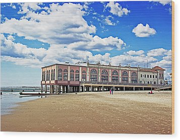 Music Pier Wood Print by Tom Gari Gallery-Three-Photography