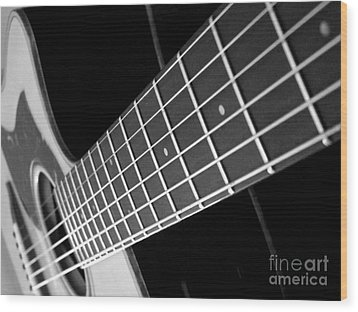 Wood Print featuring the photograph Music To My Soul by Andrea Anderegg