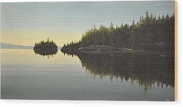 Muskoka Solitude Wood Print