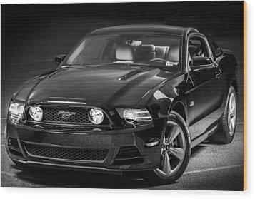 Mustang Gt Wood Print