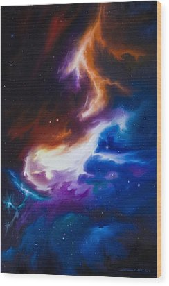 Mutara Nebula Wood Print by James Christopher Hill