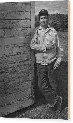 My Dad Wood Print by Dennis James