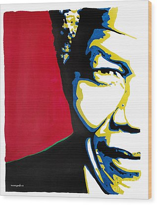 My Dear Nelson Mandela Wood Print