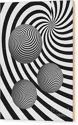 My Eyes Hurt Wood Print by Steve Purnell