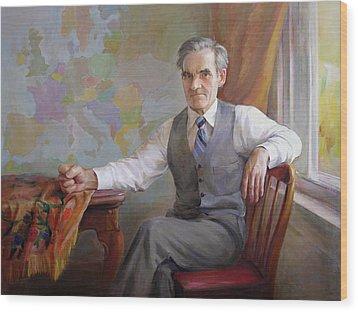 My Father Taras Wood Print