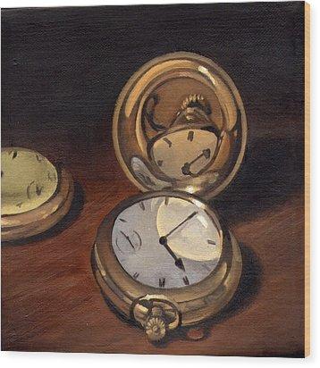 My Grandfather's Watch Wood Print