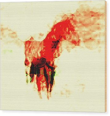 My Horse Your Horse Wood Print by Terry Matysak