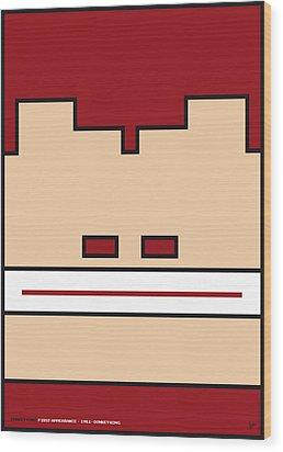 My Mariobros Fig 03 Minimal Poster Wood Print by Chungkong Art