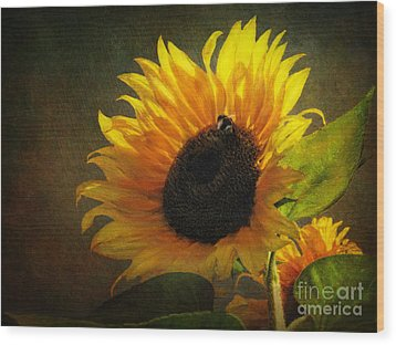 Wood Print featuring the digital art ...my Only Sunshine by Lianne Schneider