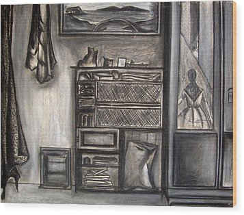My Room Wood Print by Nital Dabhade