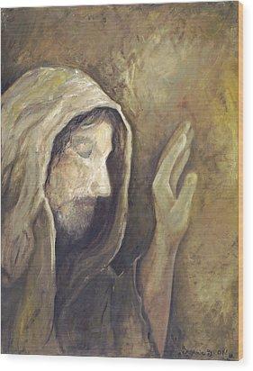 My Savior - My God Wood Print