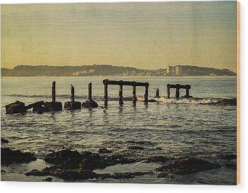 My Sea Of Ruins II Wood Print by Marco Oliveira