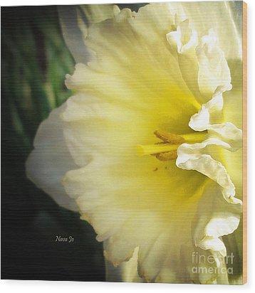 My Spring Love Wood Print by Nava Thompson