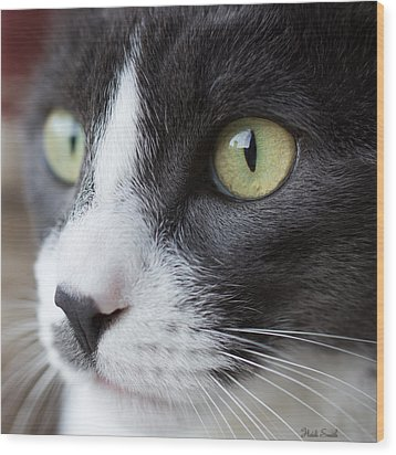 Wood Print featuring the photograph My Sweet Boy by Heidi Smith