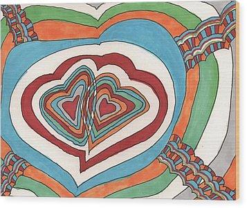 My Valentine Wood Print