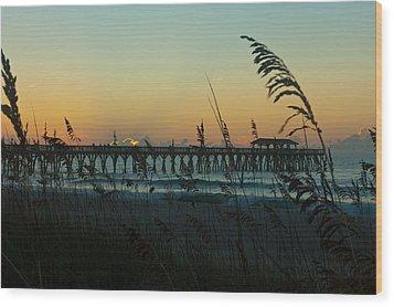 Myrtle Beach Sunrise Wood Print