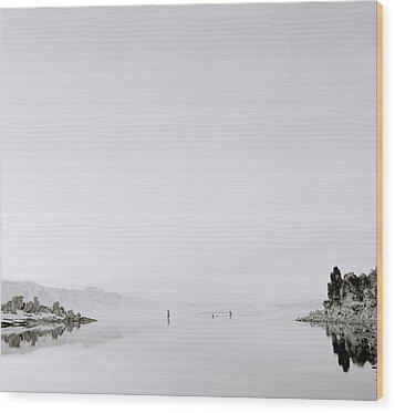 Still Waters Wood Print by Shaun Higson