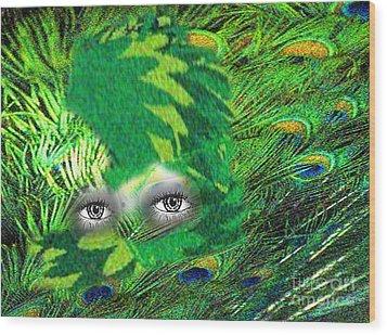 Mystery Wood Print by Belinda Threeths