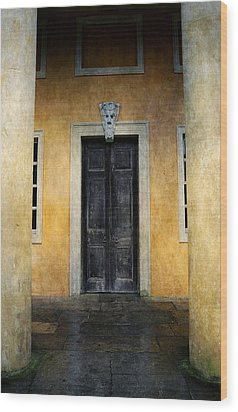 Mystery Entrance  Wood Print by Svetlana Sewell