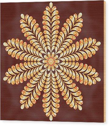 Mystery Jewel Of Kedah Wood Print by Derek Gedney