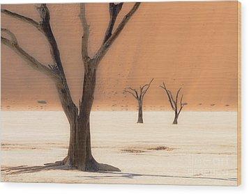 Mystic Africa Wood Print