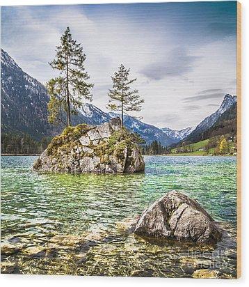 Mystic Bavaria Wood Print by JR Photography