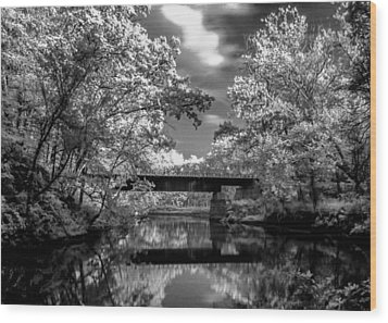 Wood Print featuring the photograph Mystic Cuyahoga by David Stine