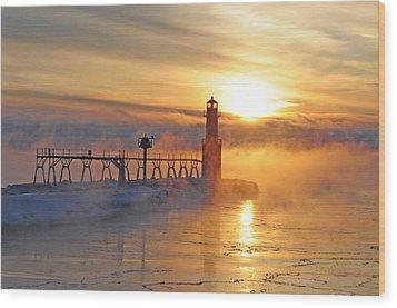 Mystic Sunrise Wood Print