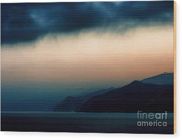 Mystical Sunrise Wood Print