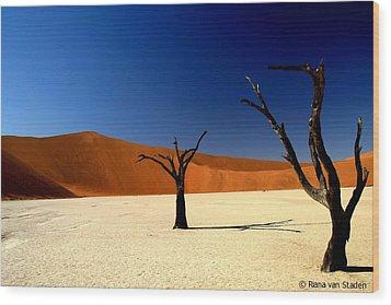 Namibia Wood Print