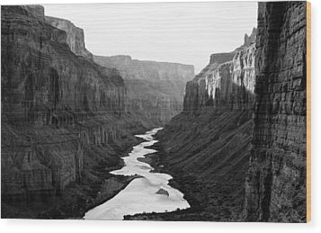 Wood Print featuring the photograph Nankoweap B-w by Atom Crawford