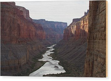 Wood Print featuring the photograph Nankoweap Grand Canyon Color by Atom Crawford
