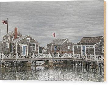 Nantucket Days Wood Print