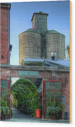 Napa Mill Wood Print by Bill Gallagher