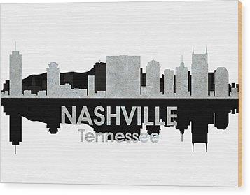 Nashville Tn 4 Wood Print by Angelina Vick