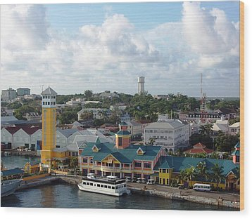 Wood Print featuring the photograph Nassau In The Bahamas by Teresa Schomig