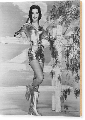 Natalie Wood, Warner Bros. Portrait Wood Print by Everett