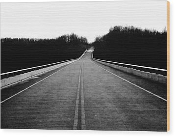 Natchez Trace Parkway  Wood Print by Krista Sidwell