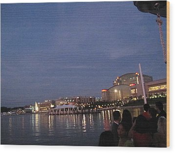 National Harbor - 121223 Wood Print by DC Photographer