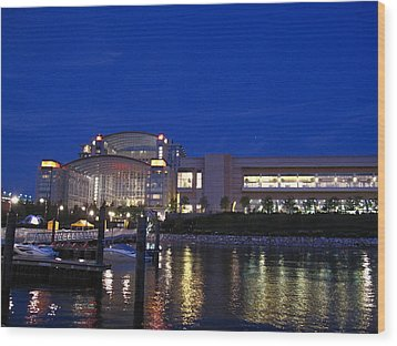 National Harbor - 121227 Wood Print by DC Photographer