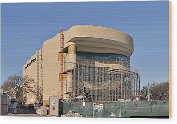 National Museum Of The American Indian - Washington Dc - 01131 Wood Print by DC Photographer